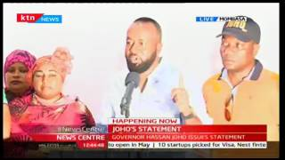 Poor grades does not have to deter anyone from achieving what they believe in says Joho