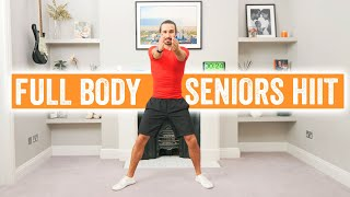 Full Body Home Workout For Seniors | 10 Minutes | The Body Coach TV