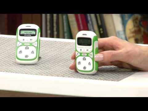 simvalley MOBILE Kinder-Handy KT-612 mit Garantruf Easy VERTRAGSFREI