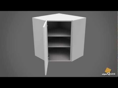 Instrucciones de montaje de MUEBLE ALTO RINCÓN CHAFLAN de SuperQuick