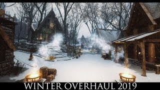 TES V - Skyrim Mods: Winter Overhaul 2019