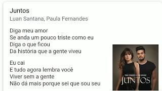 Juntos E Shallow Now  (Letra) Paula Fernandes E Luan Santana