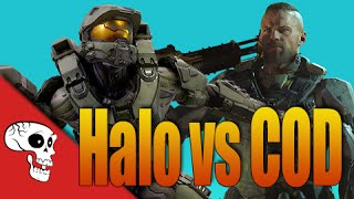 Halo 5 vs CoD Black Ops 3 Rap Battle by JT Machinima and VGRB