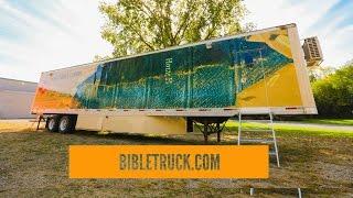 Открытие Выставки Библии bibletruck.com