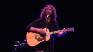 """Doesn't Remind Me"" in HD - Chris Cornell 11/22/11 Red Bank, NJ"