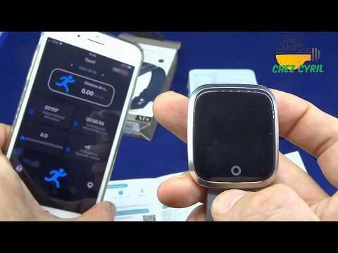 SmartWatch BAKEEY ST8 plus proche de SmartBand pour 13€