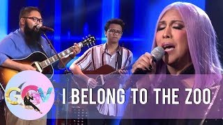 "Vice Ganda And I Belong To The Zoo Sing ""Sana"" 