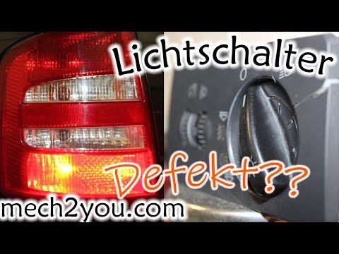 🛠️ Lichtschalter Auto defekt | Nebelschlussleuchte spinnt | DIY Auto