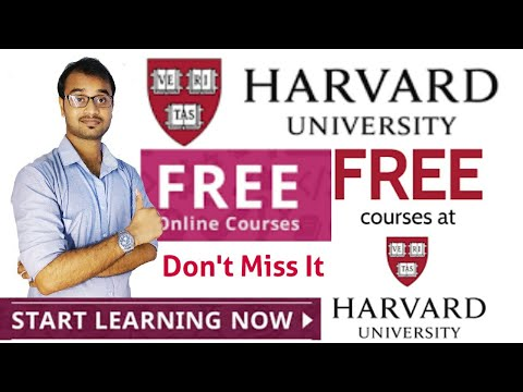 Free online courses from Harverd University  USA  How to Register ...