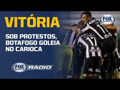 SOB PROTESTOS, BOTAFOGO GOLEIA NO CARIOCA!