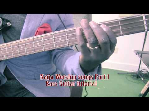 Download Naija Worship Songs 1 Bass Guitar Tutorial By David Oke AGS [Part 1] HD Mp4 3GP Video and MP3