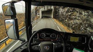 POV Driving Scania S520 - Øvre Årdal Fv. 53 Serpentine