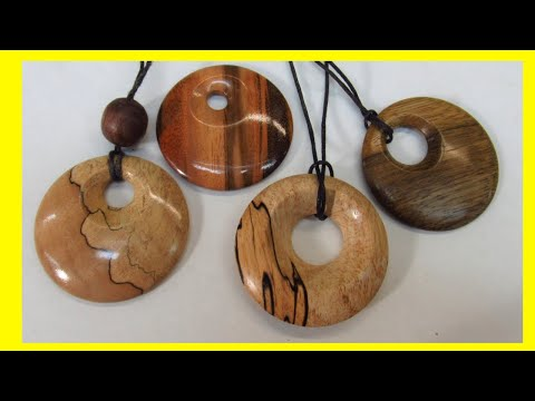 Turning Wooden Pendants