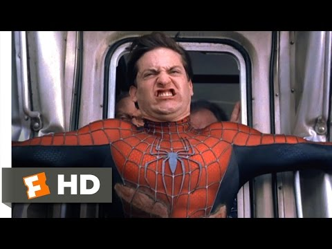 Spider-Man 2 - Stopping the Train Scene (7/10) | Movieclips