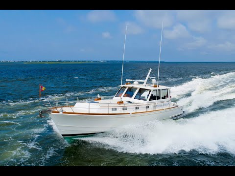 Grand Banks 49 Eastbay HX video