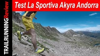 Test La Sportiva Akyra en Andorra
