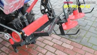 """Косилка роторная КР-09 """"ШИП"""" к мототрактору (с задней стороны) от компании Интернет-магазин NEYLON - видео"""