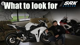 Tips to buy a used sport bike: SRK Cycles