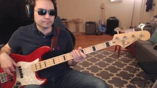 """Wanted Dead or Alive"" bass cover (Rock of Ages Broadway Cast)"