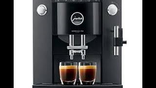 Jura F50 Coffee Machine Review And Demonstration