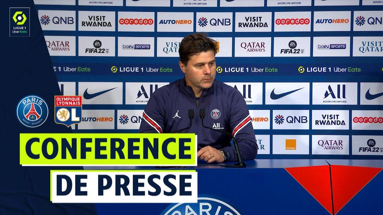Conférence de presse PARIS SAINT-GERMAIN - OLYMPIQUE LYONNAIS (2-1)  / 2021/2022