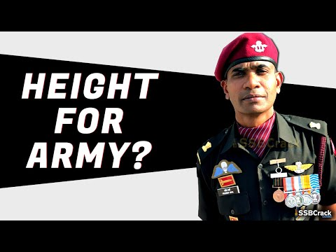 Minimum Height Required To Join Indian Army | Navy | Air Force