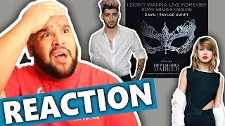 """ZAYN & Taylor Swift - I Don't Wanna Live Forever (From """"Fifty Shades Darker"""") REACTION"""