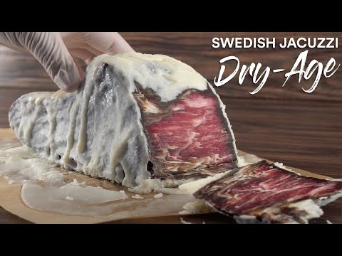 Steak: The Swedish JACUZZI Steak DRY-AGE Experiment!