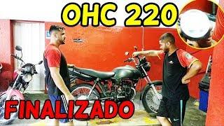 Motor OHC 220cc Na Fan 2008 Vareta Finalizado