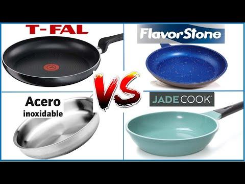 Este es el mejor Sartén. Flavor stone, Jade cook, Tefal, Acero inoxidable,