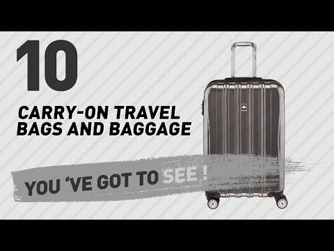 Delsey Paris Carry-On Luggage // New & Popular 2017