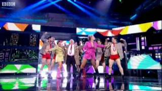 Michael Fish and the Weather Girls - It's Raining Men - Let's Dance for Sport Relief  Show 2 BBC One