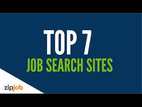 Top 7 Job Search Sites in 2017