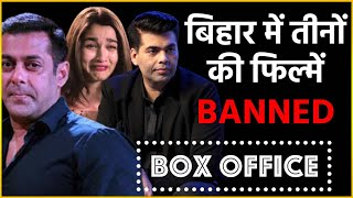 Salman Khan, Alia Bhatt And Karan Johar's films Will Be Banned In Bihar