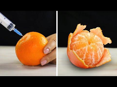 24 טיפים יעילים לחיתוך וקילוף ירקות ופירות