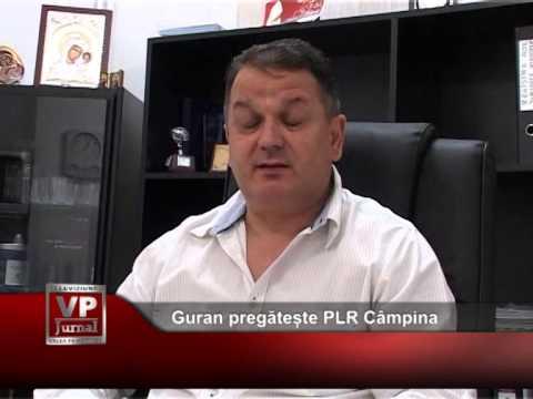 Guran pregătește PLR Câmpina