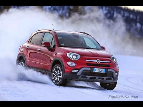 Fiat  500 X Off Road LOOK Паркетник класса J - тест-драйв 3