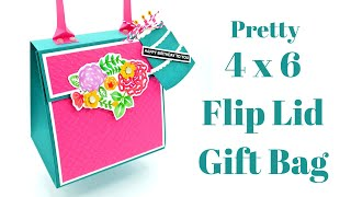 4 X 6 Flip Lid Gift Bag
