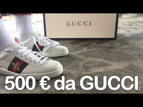 500€ da Gucci: Unboxing & Commento GUCCI ACE PATCH