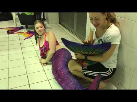 Sun Tail giveaway top Meerjungfrau Flosse zu gewinnen
