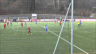 preview picture of video 'FC Stahl Linz vs SV Haslach 22.02.2015 HZ1 T1'