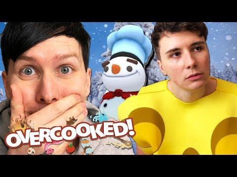MERRY CHEESEMAS from Dan! - Overcooked #3