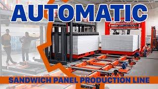 PVC SANDWICH PANEL LINE