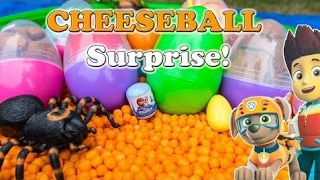 [SurpriseEggToys] SURPRISE EGGS Disney Funny Paw Patrol + Peppa Pig + Blaze World Largest Surprise