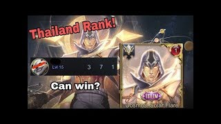 Thailand No.1 Rank! #Rov, #傳說對決, #LiênQuânMobile, #펜타스톰,