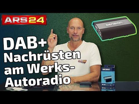 DAB+ Digitalradio nachrüsten am Werks-Autoradio | Dension DAB+U  | ARS24