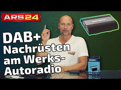 Wunderwaffe DAB+ über USB ans Werks-Autoradios nachrüsten | Dension DAB+U
