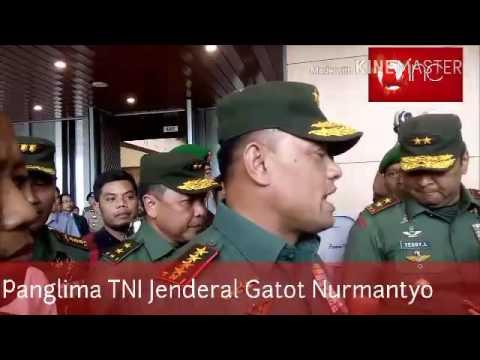 Panglima TNI Dalam acara Kebangsaan