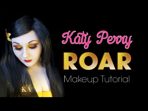 Katy Perry's Roar Inspired Makeup Tutorial