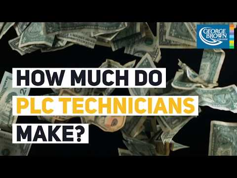How much do PLC Technician's make? - YouTube